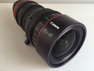 Rent: Canon CN 15.5-47mm T2.8 PL Compact Cinema Zoom