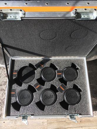 6 x Cooke Mini S4/i Prime Lens Set