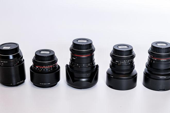 Rokinon Prime Cine Lens Set