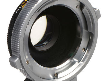Rent: Metabones Speed Booster Ultra 0.71x PL Lens to MFT