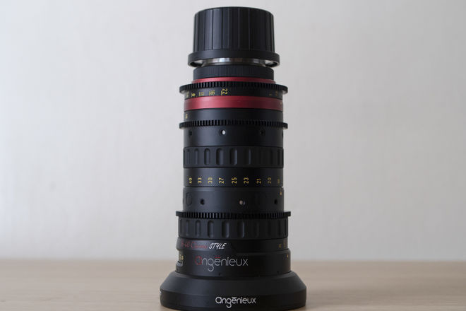 Angenieux Optimo Style 16-40mm T2.8 Zoom Lens EF or PL