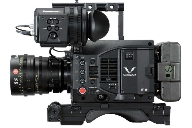 Panasonic VariCam LT Package w/ PL or EF Mount & EVF