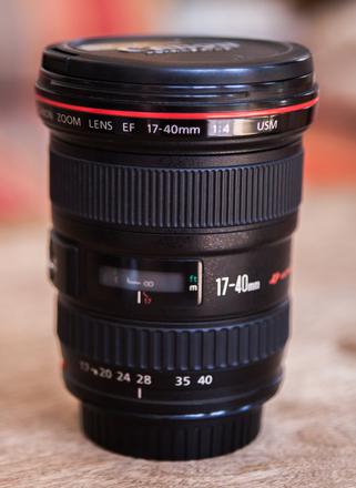Canon L 17-40 Lens