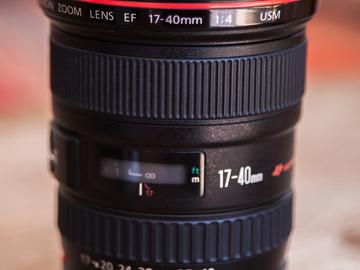 Rent: Canon L 17-40 Lens
