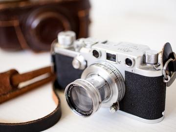 Rent: Leica iiif Rangefinder 35mm Vintage Camera