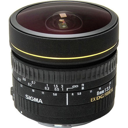 Sigma 8mm f/3.5  Fisheye