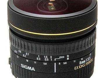 Sigma 8mm f/3.5  Fisheye