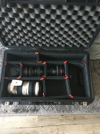 Canon Lens kit with Duclos Infinity Focus Ring