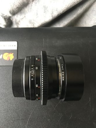 Canon EF Carl Zeiss 50mm  Lens with Duclos Infinity Focus