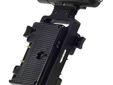 Rent: Movcam Battery Bracket and Converter for Gold-Mount Batterie