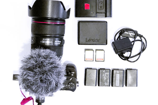 Sony Alpha a7R II Mirrorless Digital Camera Shoot Ready Kit