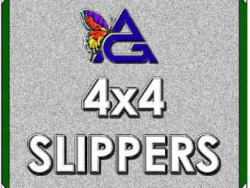 Rent: 4'x4' SLIPPER / Solid Floppy