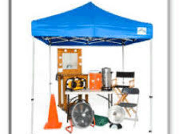 Rent: SMALL Production Package (First Aid , Chairs, Tables, etc.)