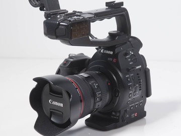 Rent: Canon C100 with 24-105mm f/4L Lens (Dual Pixel)