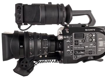 SONY FS7 Camera Package w 2 Lenses