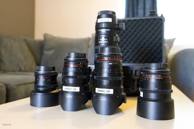 Rokinon Cine Lens Set with Sigma 70-200