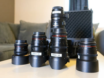 Rokinon Cine Lens Set with Sigma 70-200