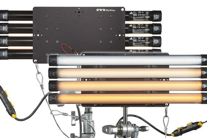 Quasar 9 Light Kit / 4ft T8 Tubes