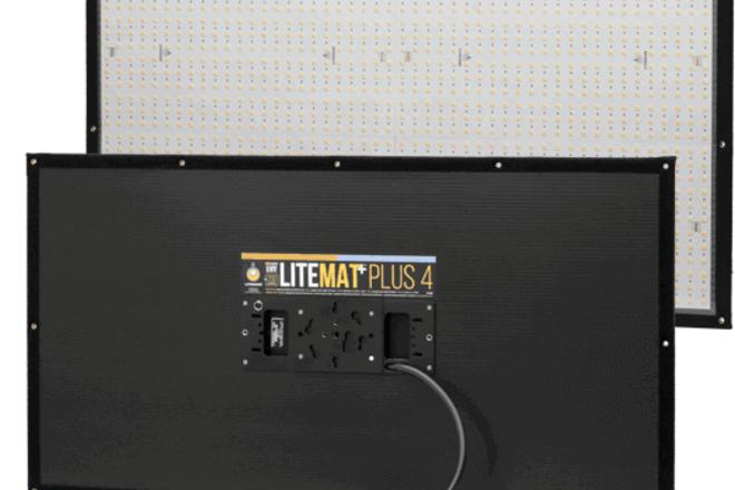 LiteGear LiteMat+ Plus 4 w/ softbox, grid and Cstand