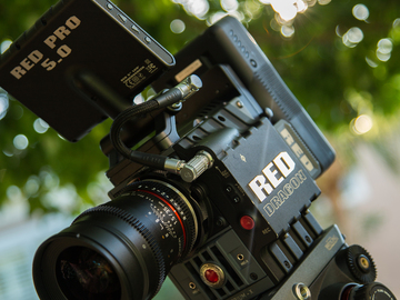 Rent: Red scarlet x