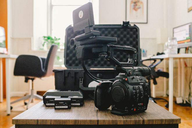 Canon EOS C300 Mark II (EF or PL mount available)