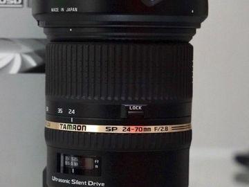 Tamron SP 24-70mm f/2.8 Di VC USD - EF Mount