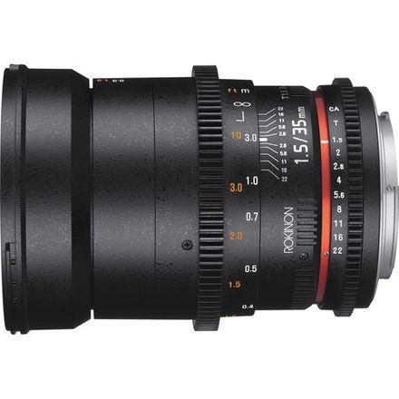 Rokinon Cine 35mm T1.5 EF