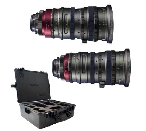 Angenieux EZ-1 and EZ-2 15-40mm, 30-90mm t2.0 Zoom Lens Kit