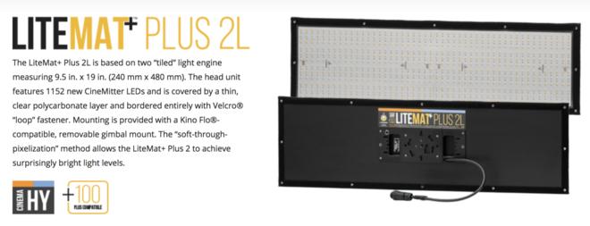 Lite Gear Light Mat+ 1 (4) & 2L (2)
