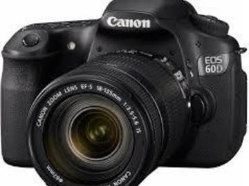 Rent: canon 60d with 18-135mm lens