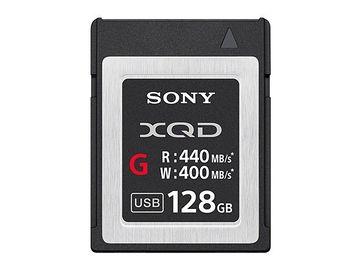 Rent: Sony 128GB XQD G Series Memory Card (400MB/s)