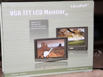 Rent: liliputt 7 inch touchscreen hd monitor
