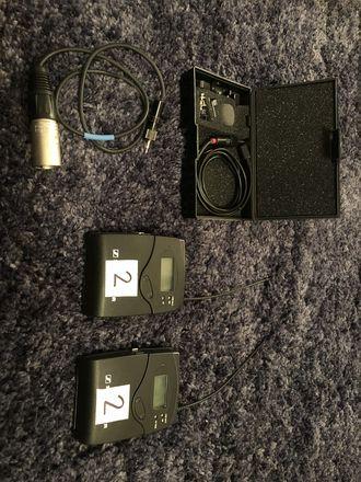 Sennheiser G3 Wireless Kit w/ Tram TR50