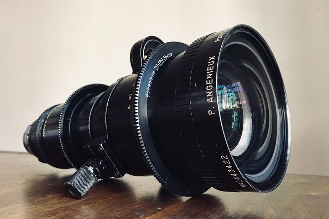 Angenieux 20-120mm T2.9 Zoom Lens