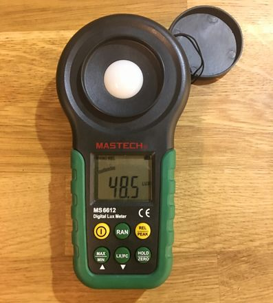 Mastech MS6612 Digital 0-200,000 Lux/With Batteries