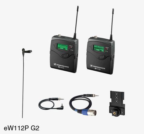 Sennheiser ew 100 ENG G2 Wireless Lapel