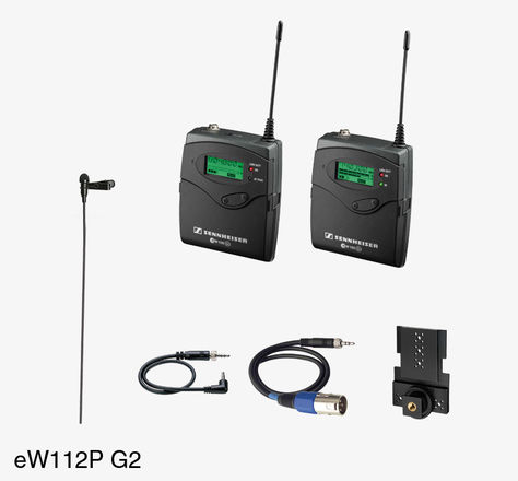 Sennheiser ew 100 ENG G2 Wireless Lapel