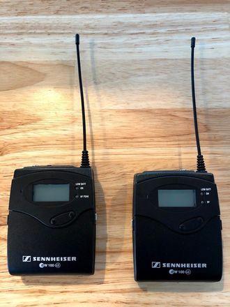 Sennheiser ew 100 ENG G3 Wireless Lapel