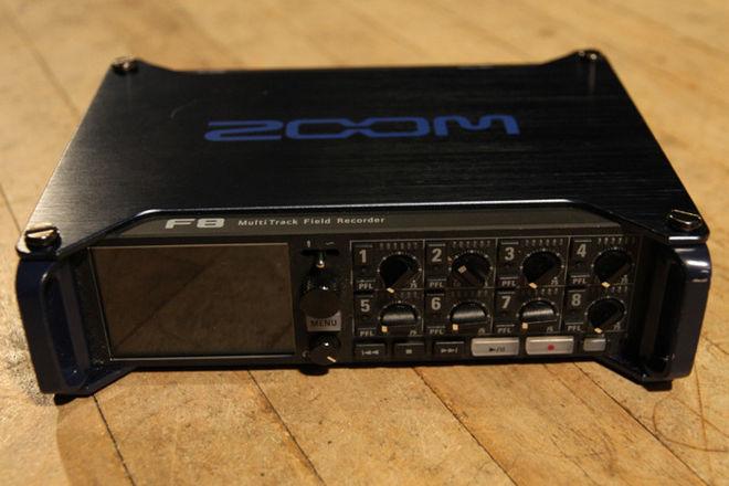 Zoom F8 Multi-Track Field Recorder