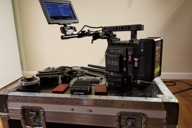 Red Epic-W KIT #6 w TILTA 3 AXIS GIMBAL OR MOVI GIMBAL
