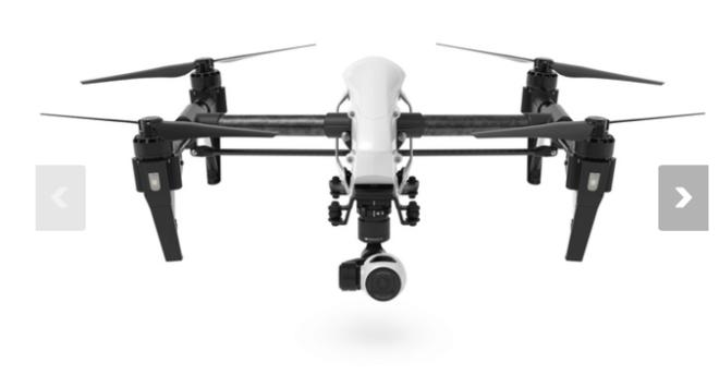 DRONE DJI Inspire 1 4K + DRONE OPERATOR