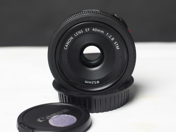 Rent: Canon 40mm f/2.8 STM Pancake Lens