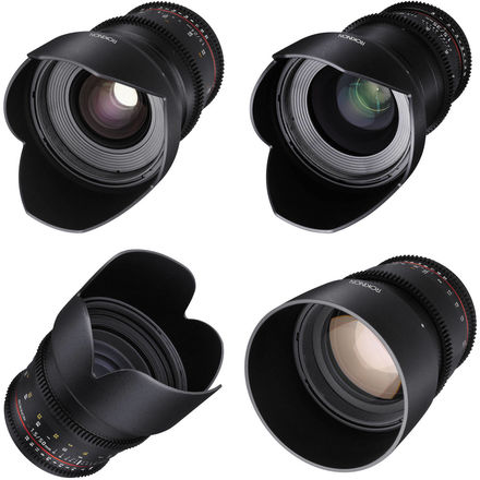 Rokinon Cine DS Lens Set (24, 25, 50, 85mm)