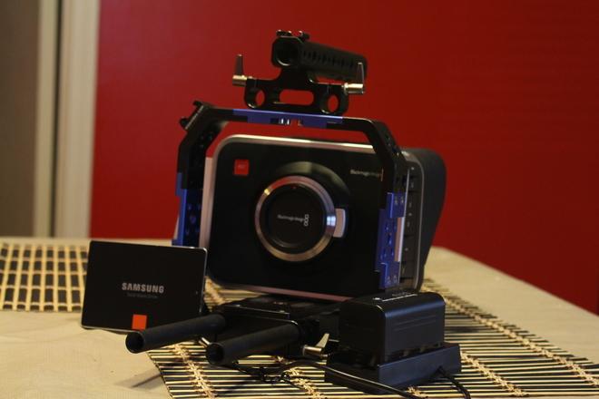 Blackmagic Cinema Camera MFT Camera with EF speedbooster