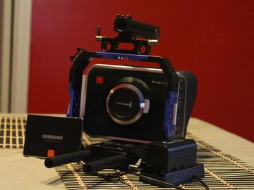 Rent: Blackmagic Cinema Camera MFT Camera with EF speedbooster