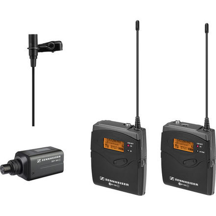 Sennheiser EW100 G3 Wireless Lavalier Microphone Kit