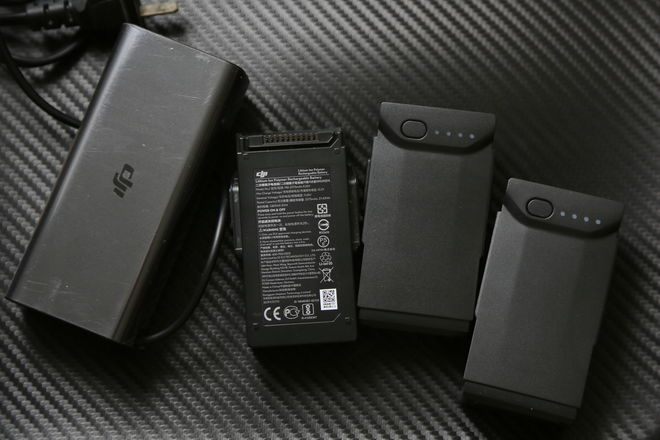 DJI Mavic-air battery and charger