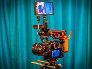 Rent: Panasonic GH5 kit w/Rokinons, monitor, Crane V2 gimbal +more