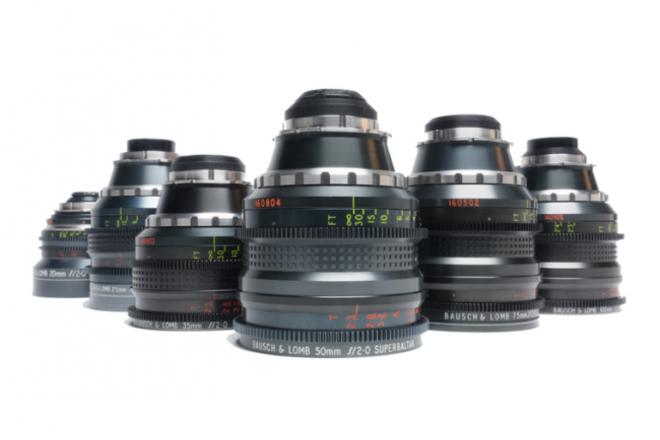 Rehoused Super Baltar 5 Lens Set