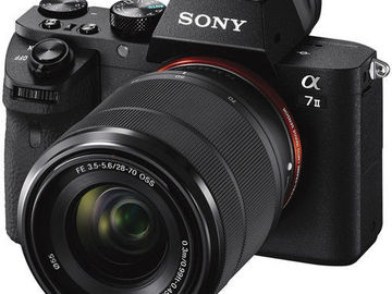 Rent: Sony Alpha a7IIK Mirrorless Digital Camera with 28-70mm Lens